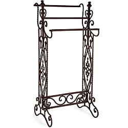 Iron Small Corazon Quilt Rack