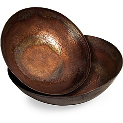 Set of 2 Argento Iron Mirage Bowls