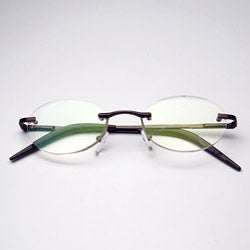 Rimless Oval Computer Glasses