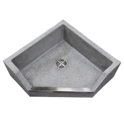 Corner Mop Sink : Crane Terrazzo Neocorner 6-inch Drop Front Mop Service Basin ...