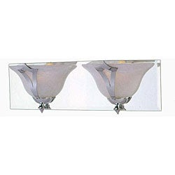 Medallion Halogen Chrome 2-light Bath Fixture