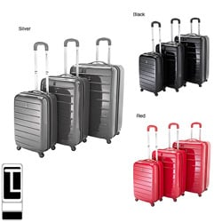 Travel Concepts by Heys Parallel Lightweight 3-piece Spinner Luggage Set