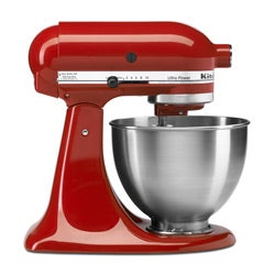 KitchenAid KSM95PSER Empire Red Ultra Power Series Tilt Head Mixer