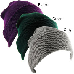 Stretch Knit Unisex Beanie