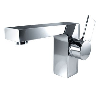 Fresca Isarus Single Hole Mount Chrome Bathroom Faucet