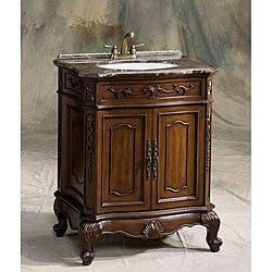 carina cherry wood bathroom vanity cabinet overstock shopping