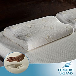 Comfort Dreams Premium 4-pound Density Contour Memory Foam Pillows (Set of 2)