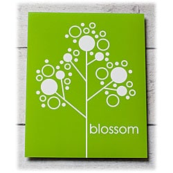Trendography Prints  'Blossom' Graphic Art Print