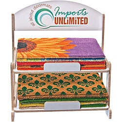 Starter Kit Misc Doormats and Free Display Rack (Case of 192)