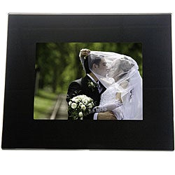 TAO 8-inch Black Acrylic Digital Photo Frame