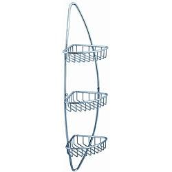 Fresca 3-tier Corner Wire Basket