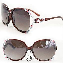 Women's P1863 Brown Fashion Sunglasses