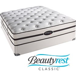 Beautyrest Classic Porter Plush Queen-size Mattress Set