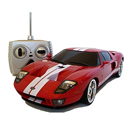 Remote Control 1:18-scale Red Ford GT