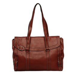 Nunzia Bellerose Women's Red 15.4-inch Laptop Tote