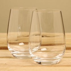 Marquis by Waterford 'Vintage' All-purpose Stemless Wine Glasses (Set of 4)