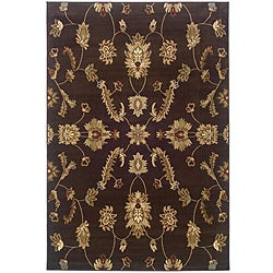 Indoor Brown Oriental Rug (9' x 13')
