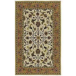 Home and Porch Ivory Indoor/ Outdoor Rug (2 x 6)