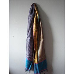 Silk Acacia Current Peace Scarf India  Overstockcom Silk Scarves Peace