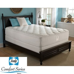 Sealy Comfort Series Cape Francis Plush Queen-size Mattress Set