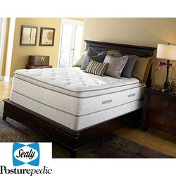 Sealy Posturepedic Hamstead Rose Ultra Plush Euro Pillowtop California King-size Mattress Set