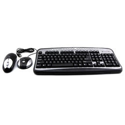 ATIVA Wireless Optical Desktop Set USB Plug and Play Keyboard (Refurbished)