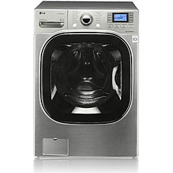 LG ' WM3875HVCA' 4.2 Cu.Ft. Front load Steam washer E in Titanium