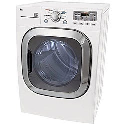 LG 7.4-cubic-foot White Gas Dryer