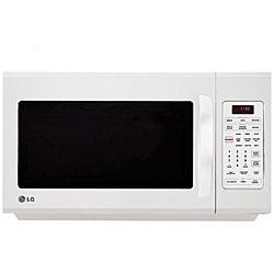 LG Stainless Steel 1100-watt Over Range Microwave