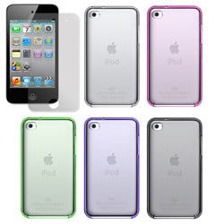 Apple iPod Touch 4th Generation Crystal Skin Case with Screen Protector