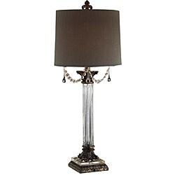 Crystal Dangle Table Lamp