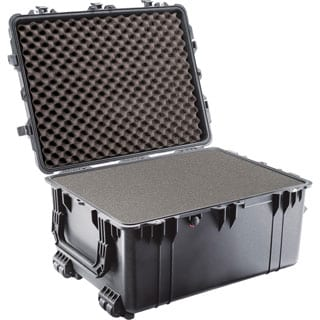 Pelican 1630 Shipping Box with Foam