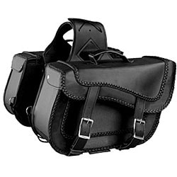 Zip Off Large Motorcycle Saddlebags