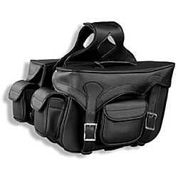 Raider Zip Off with Pockets Motorcycle Saddlebags