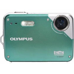 Olympus X560 WP 10MP Teal Digital Camera