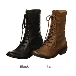 MIA Women's 'Bedford' Lace-up Combat Boots