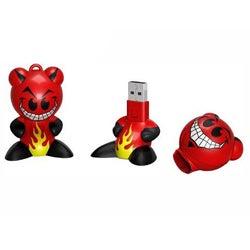 Emerson Funkeys 1 GB USB 2.0 Sculpted Firecat Flash Drive