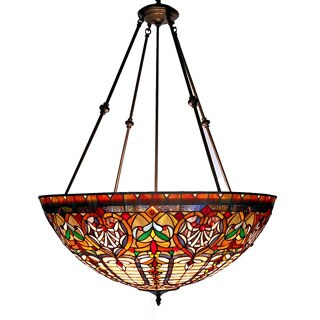 Tiffany-style Victorian Large Chandelier