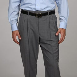 Austin Reed Men's Grey Pleated Dress Pants