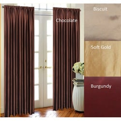 Zen Taffeta 96-inch Curtain Panel