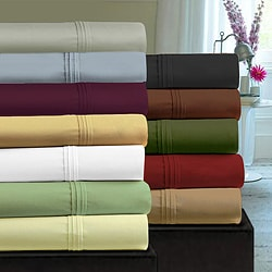 Egyptian Cotton Sateen 350 Thread Count Pillowcases (Set of 2)