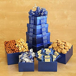 California Delicious Hannukah Gourmet Food Gift Tower