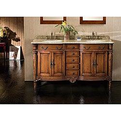 Kamila Granite Top Double Vanity By Ove Decors