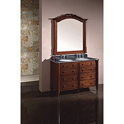 Farrah Double Granite Vanity By Ove Decors