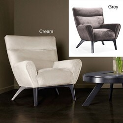 Chenille Hardwood Chair