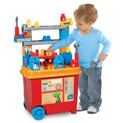 Mega Blocks Build'n Play Workbench