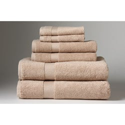 Turkish Organic Cotton Earth 6-piece Towel Set