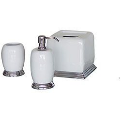 Hotel Collection Bath Accessory 3 Piece Set Overstock Shopping The Best Prices On Bathroom