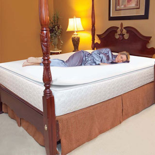 Slumber Solutions 1-inch Memory Foam Mattress Topper