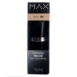 Max Factor Pan-Stik #101 Natural Ultra Creamy Makeup (Pack of 4)